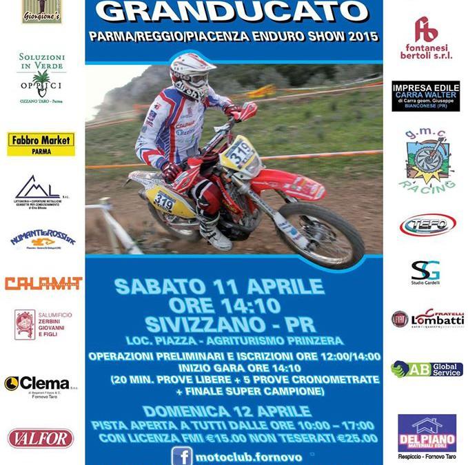 Sabato 11 Aprile prima prova Trofeo Gran Ducato enduro
