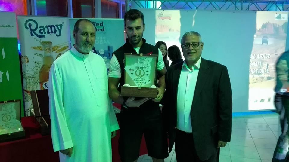 Marco Iob 1° assoluto al rally d'Algeria