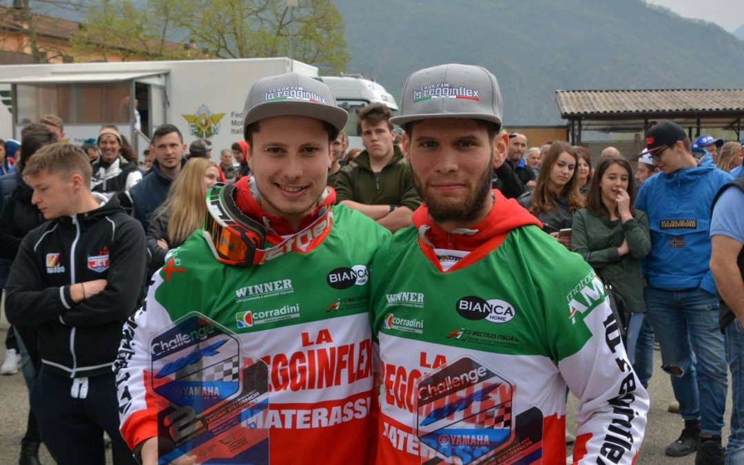 SPLENDIDA VITTORIA DI SQUADRA NELLA SECONDA PROVA  DELL' ITALIANO ENDURO UNDER23/SENIOR