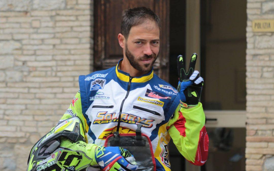 MAURIZIO GERINI  E' CAMPIONE ITALIANO MOTORALLY