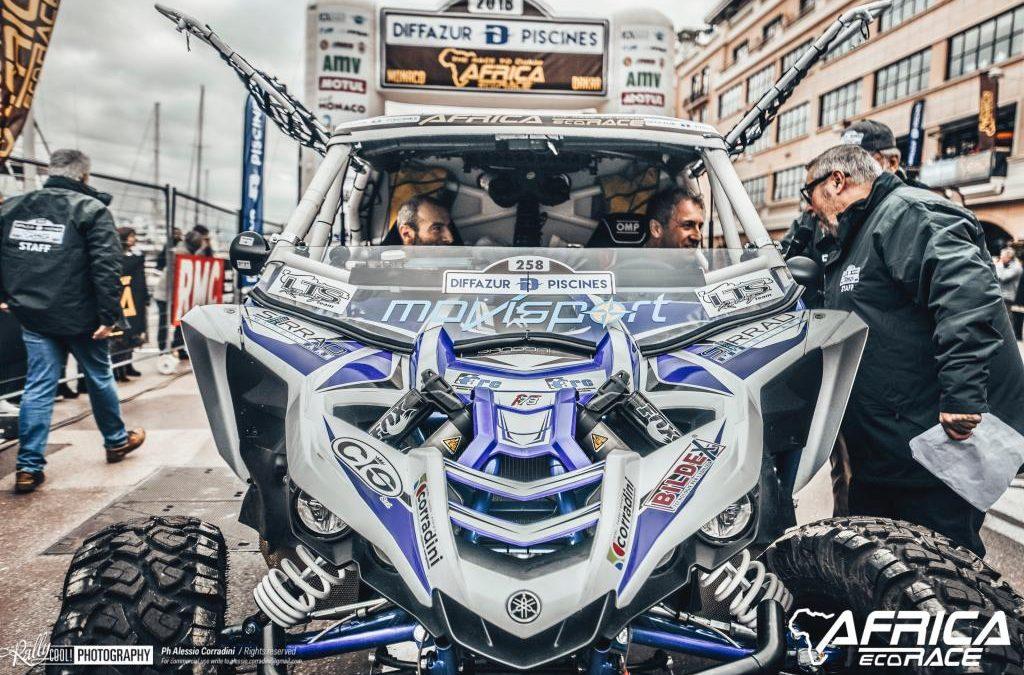 AFRICA ECO RACE 2018  PRIMA TAPPA E PRIMA VITTORIA PER  STEFANO PELLONI E GIANLUCA CROCIANI
