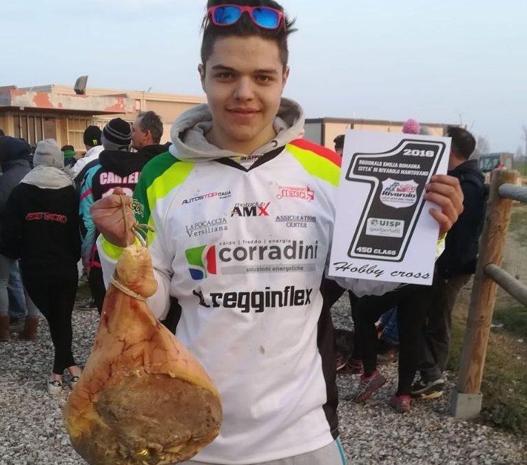 Regionale Uisp Rivarolo primo gradino del podio per Simone Gori