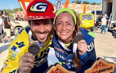 Transanatolia 2019 video Motoclub AMX 2 primi posti per Maurizio Gerini e Francesca Gasperì