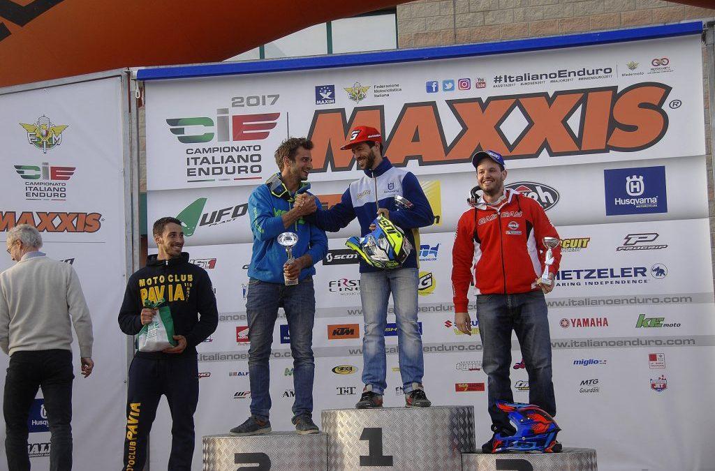 CAMPIONATO ITALIANO ENDURO UNDER23/SENIOR OTTIMA PROVA DI MAURIZIO GERINI E DI OMAR CHIATTI BENE IL MOTO CLUB AMX