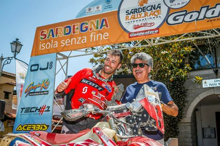 Marco Iob campione Italiano Raid TT 2017 della classe RT3