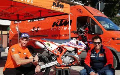 Marco Iob campione italiano motorally classe 2T